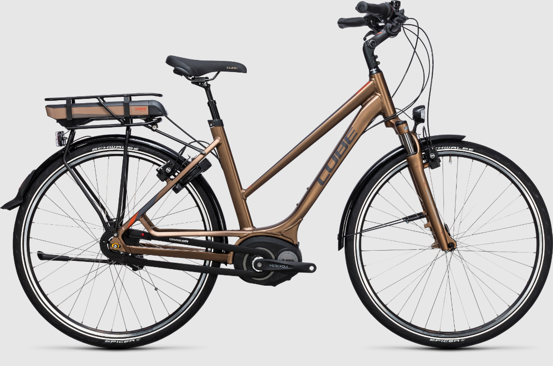 Cube Travel Hybrid 400 havanna