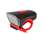 "CUBE LIGHT LTD ""WHITE LED"" BLACK/RED"