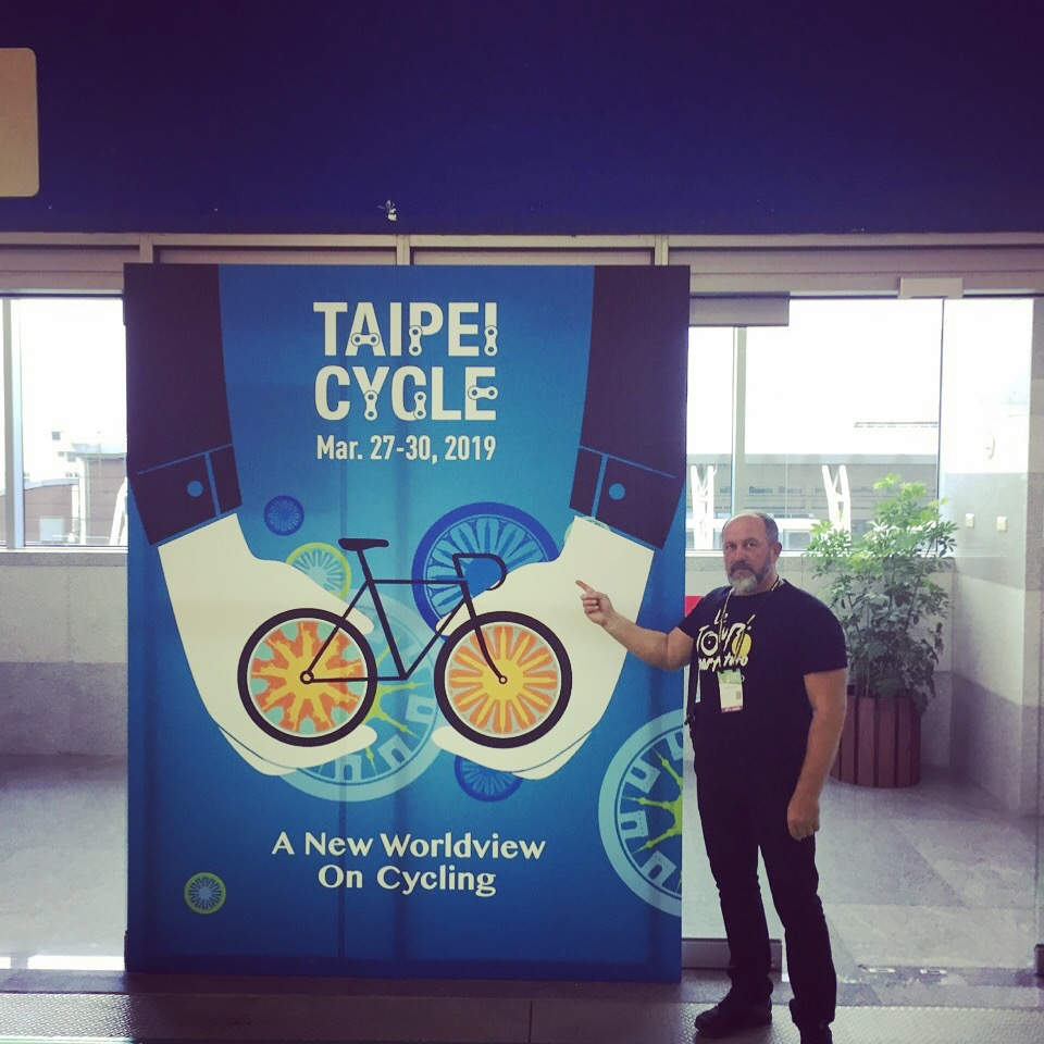 Постер з виставки TaiPei Cycle Show 2018