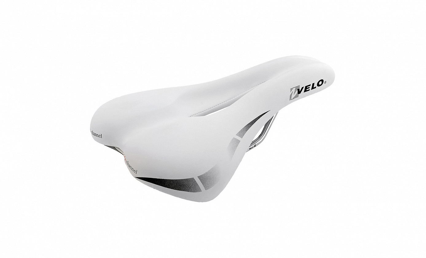 VELO Wide Channel touring saddle