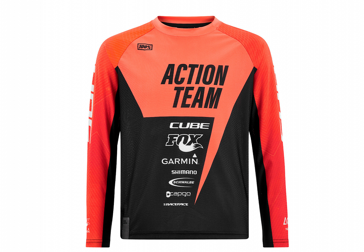 CUBE JUNIOR JERSEY L/S X ACTIONTEAM